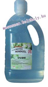 Cudy illatmentes folyékony mosószer 4,5 liter