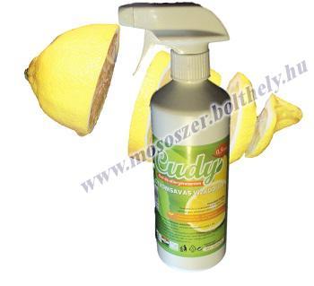 Cudy illatmentes citromsavas vízkőoldó 0.5 liter