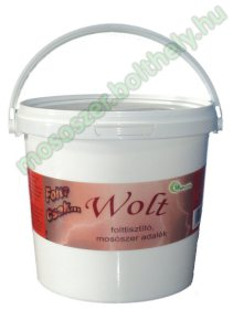Wolt folttisztító mosószer adalék 2,5 kg.