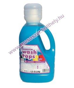 Wash Taps folyékony mosószer, mosógél color 1,5 L. (kék)