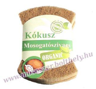Bio natural mosogatószivacs 2 db.