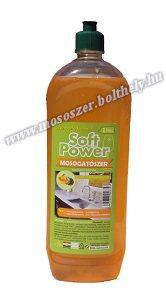 Soft Power mosogatószer koncentrátum 1 liter tea-mandarin illattal