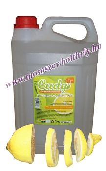 Cudy illatmentes citromsavas vízkőoldó utántöltő 5 liter