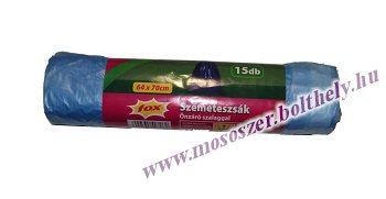 Szemeteszsák önzáró szalaggal 64x70 cm 70 liter 15db Topstar
