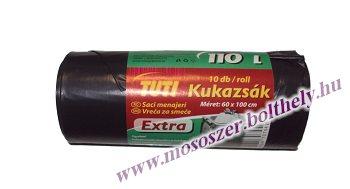 Kukazsák 10 db 60x100 cm 110 liter Tuti Extra
