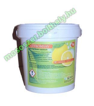 Cudy citromsav 1 kg. környezetbarát vízkőoldó