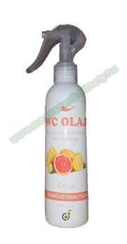 WC olaj prémium citrus 200 ml.