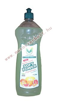 Soft Power hypoallergen mosogatószer koncentrátum 1 liter Pomelo-Citrus