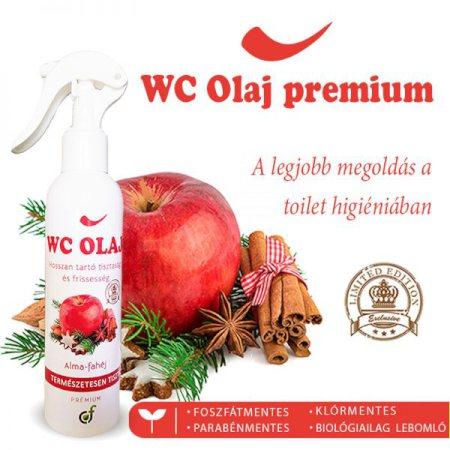 WC olaj prémium 200 ml. alma-fahéj