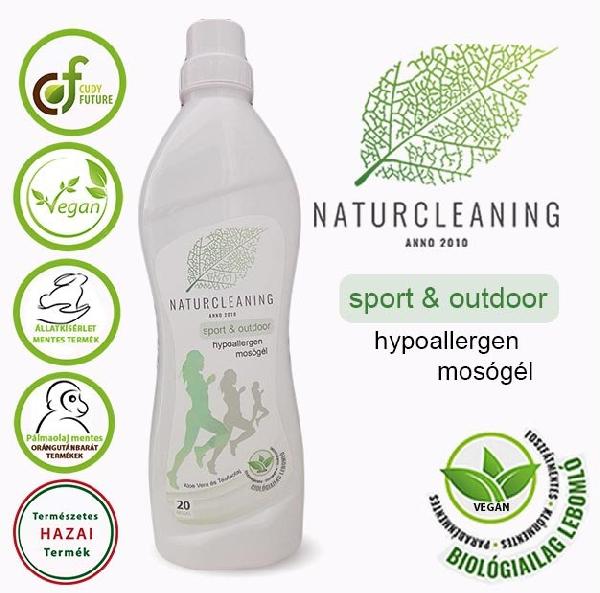 Naturcleaning sport & outdoor hypoallergen mosógél 1 liter