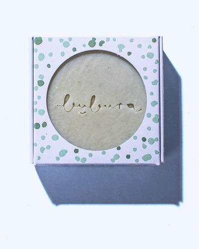 Bubura teafa és zöld agyag szappan
