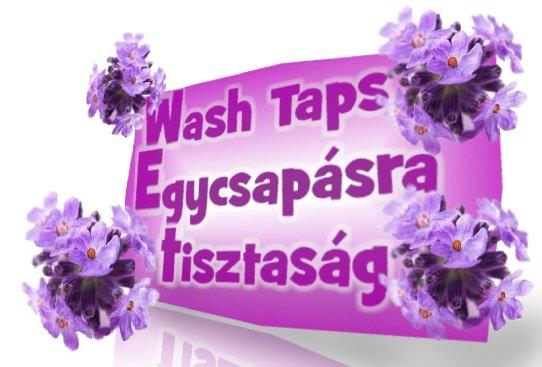 Wash Taps egycsapásra tisztaság color folyékony mosószer 4,5 liter.